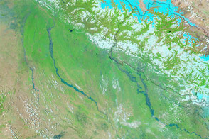Severe Flooding in Northern India, Nepal - selected image