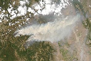 West Fork Complex Fires, Colorado