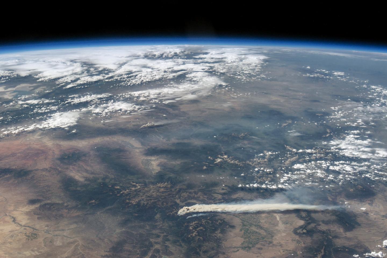 Astronaut View of Fires in Colorado : Natural Hazards
