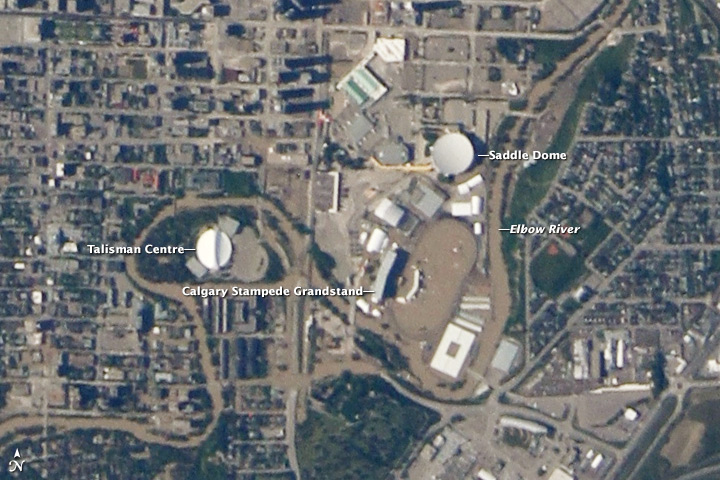 ISERV observes flooding in Calgary - related image preview