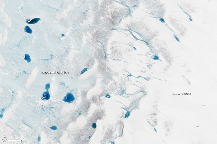 Greenland's Summer Melt Underway