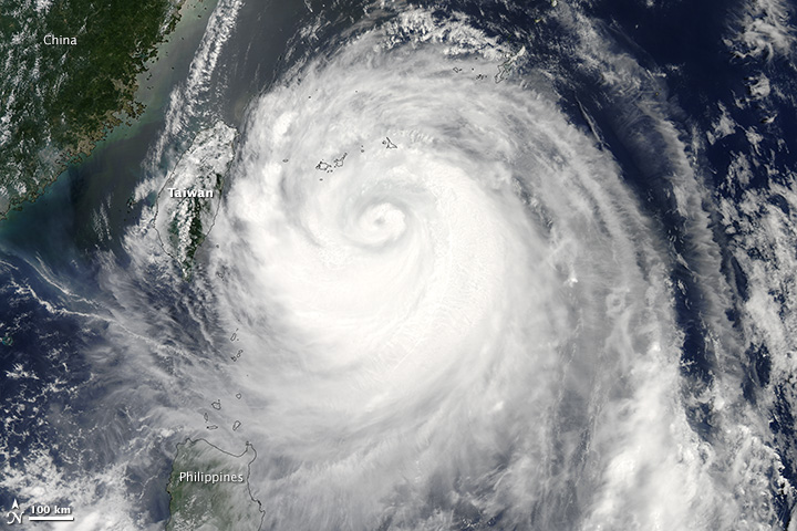 Typhoon Soulik Approaches Taiwan