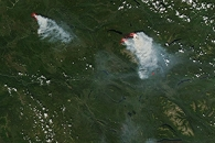 Wildfires in the Yukon