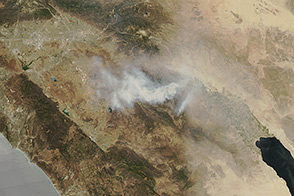 Mountain Fire, California