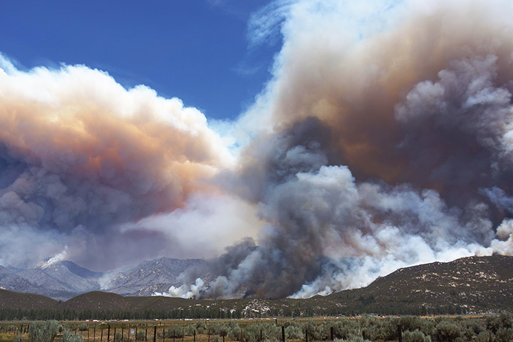 Mountain Fire, California