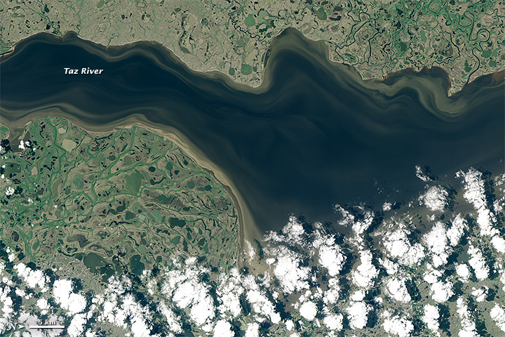 Taz River, Russia