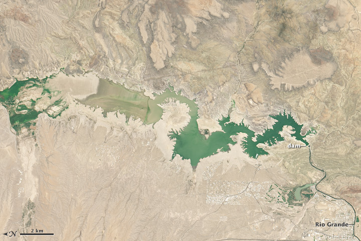 Drought Dries Elephant Butte Reservoir