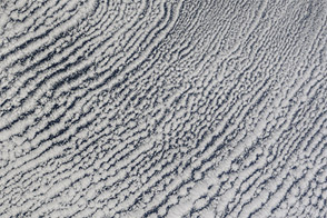 Cloud Streets over the Bering Sea : Image of the Day