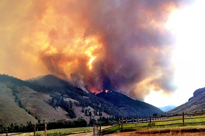 Lodgepole Fire, Idaho