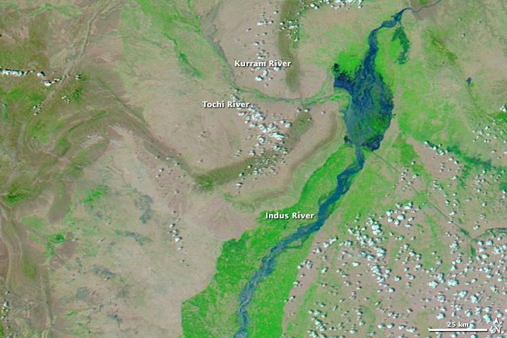 Deadly Monsoon Floods in Pakistan