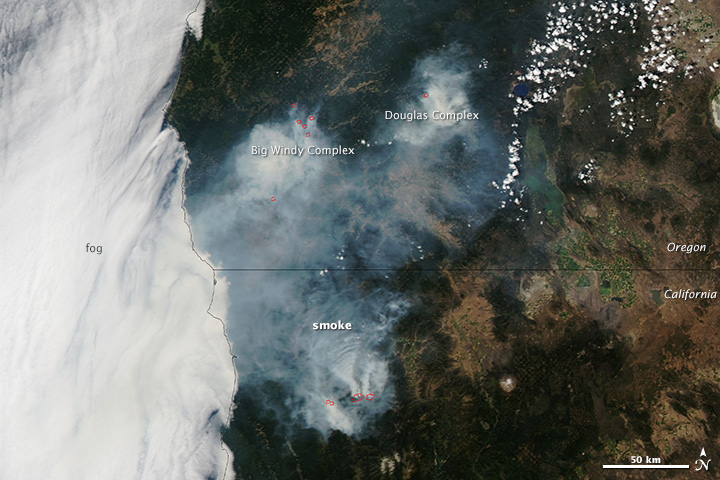 Oregon Burning