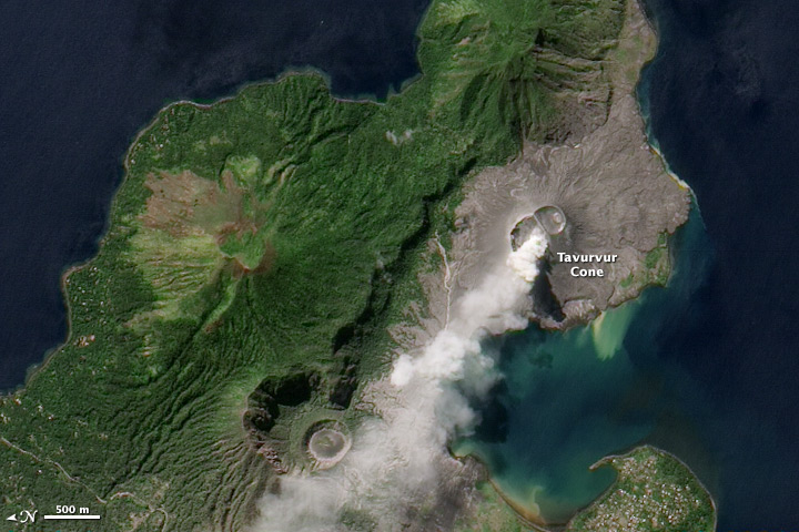 Ash Plume from Rabaul Volcano - related image preview