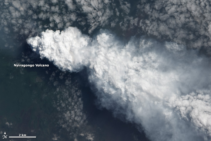 Plume from Nyiragongo - related image preview
