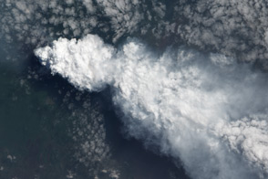 Plume from Nyiragongo - selected image