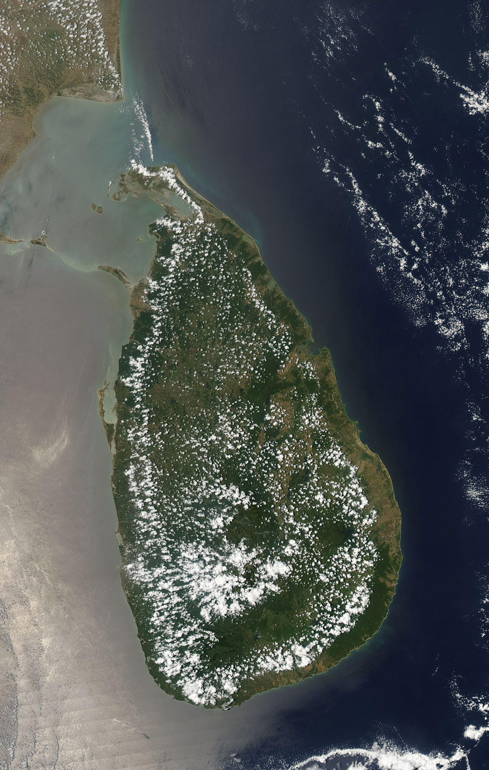 Fair Weather Clouds Sri Lanka Image Of The Day