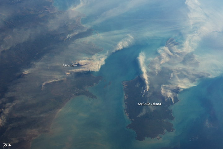 Fires around Darwin, Australia - related image preview