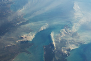 Fires around Darwin, Australia - selected image