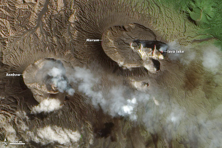 Volcanic Plumes Escape Ambrym Volcano - related image preview