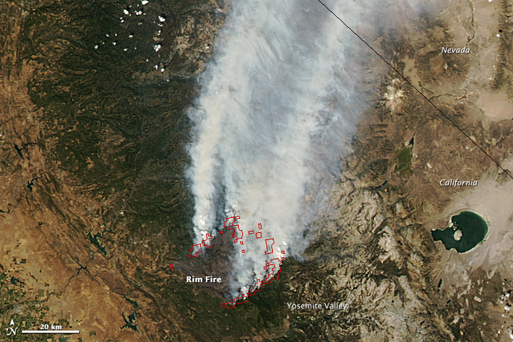 Rim Fire, California