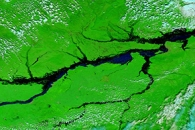 Flooding in Eastern Russia and China