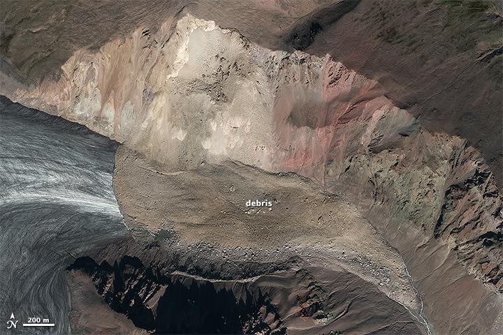 Hunting Landslides With Landsat Image Of The Day