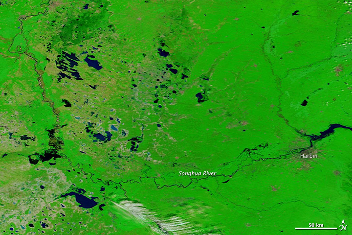 Flooding in Northeastern China