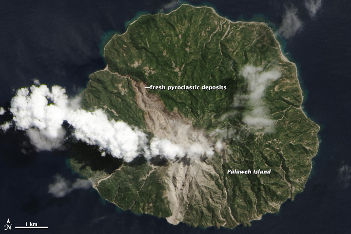 Deadly Pyroclastic Flow at Paluweh Volcano - related image preview