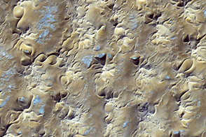 Star Dunes in Algeria