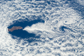 Cloud Swirls and Ripples, Guadalupe Island