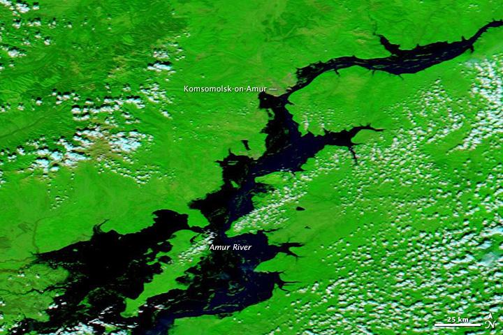Floods Inundate Russia's Far East on khabarovsk map, the nutcracker russian dance listening map, on a map,