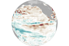 Pacific Waters Remain Stubbornly Stable - selected image