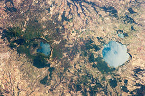 Caldera Lakes to the North of Rome