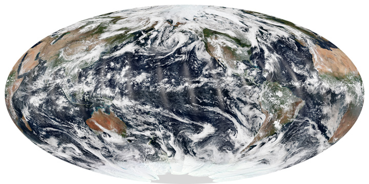 Three Oceans, No Cyclones