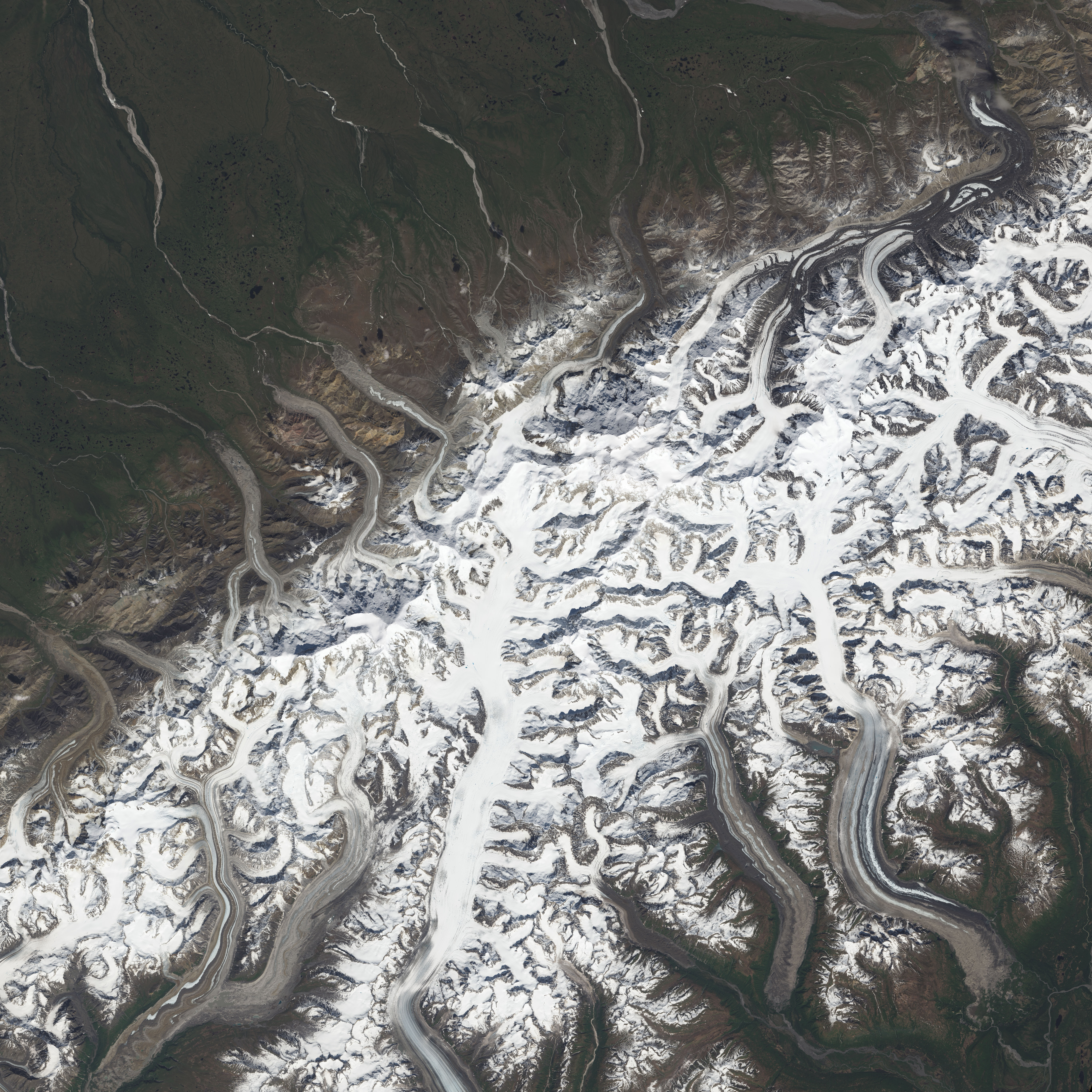 Same Mountain Different Measurements Image Of The Day - Satellite height map