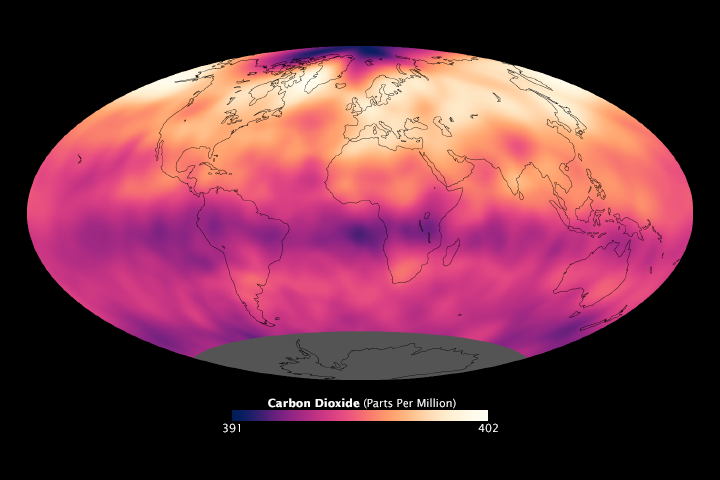 Global Patterns of Carbon Dioxide - related image preview