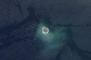 Earthquake Births New Island off Pakistan - selected image