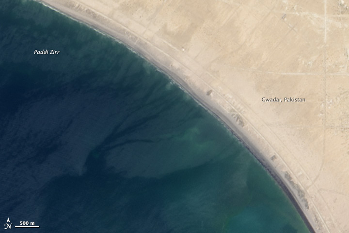 Earthquake Births New Island off Pakistan - related image preview