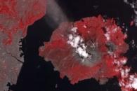 Activity at Sakurajima Volcano