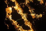 San Francisco Region at Night