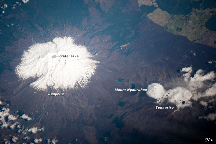 Ruapehu Volcano and Tongariro Volcanic Complex