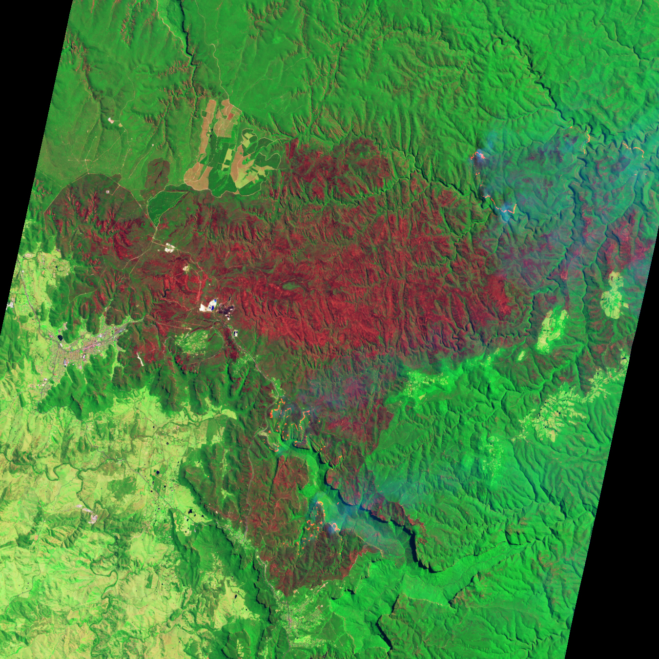 Bushfires in the Blue Mountains - related image preview
