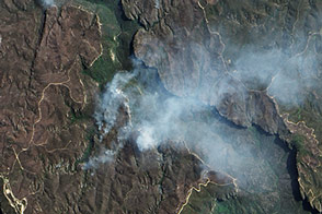 Bushfires in the Blue Mountains - selected image