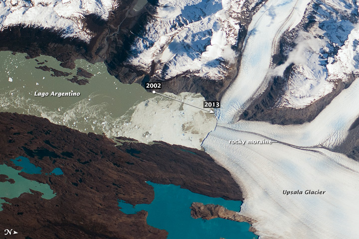 Upsala Glacier Retreat - related image preview