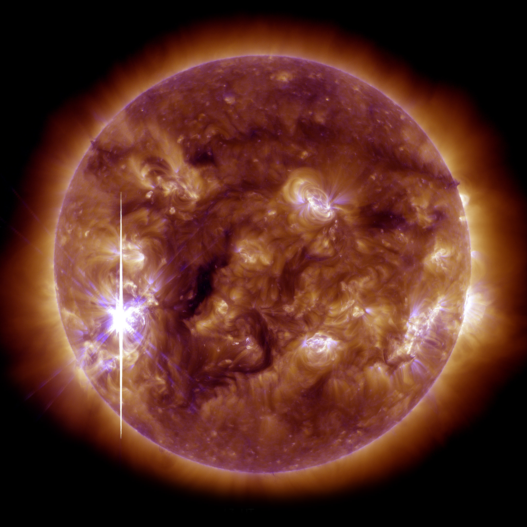 The Sun Flares Up - related image preview