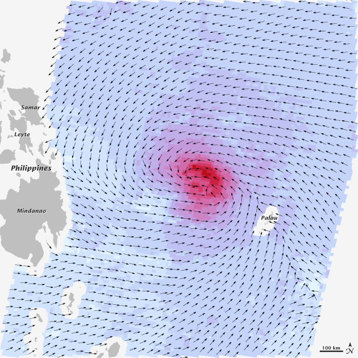 Assessing Haiyan's Winds - related image preview