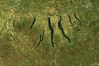 The Icy Origins of the Finger Lakes