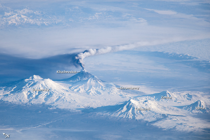 Activity at Klyuchevskoy Volcano - related image preview