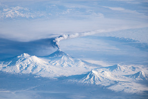 Activity at Klyuchevskoy Volcano - selected image
