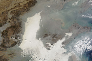 Smog Shrouds Eastern China