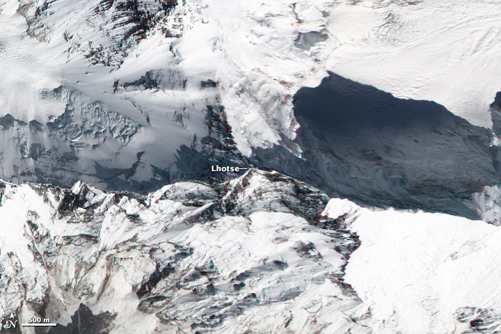 NASA Visible Earth: Lhotse